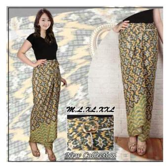 SB Collection Rok Lilit Batik Yelikia Jumbo Kuning .