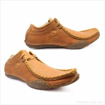 harga Black Master - Sepatu PriaFerrari Slip on - LOW TAN Lazada.co.id