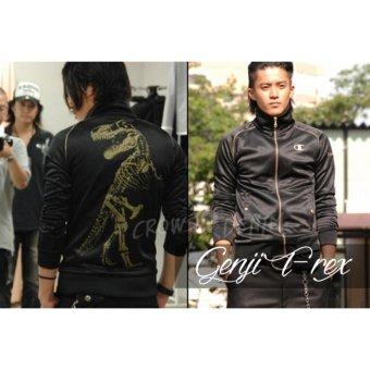 harga Jas Premium - Jacket Genji T-Rex Fashionable T-REX - Hitam Lazada.co.id