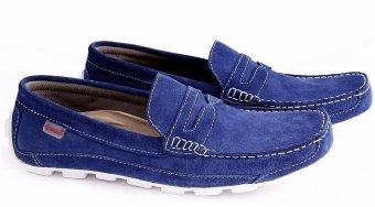 harga Garucci GCN 1181 Sepatu Sneaker Pria - Suede - Keren Dan Stylish (Biru) Lazada.co.id