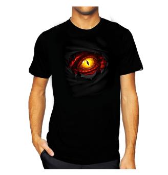 11gfn T-Shirt Dragon Eye - Hitam