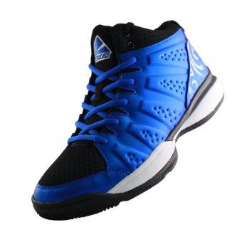 2Beat Wave Sepatu Basketball - Blue Black