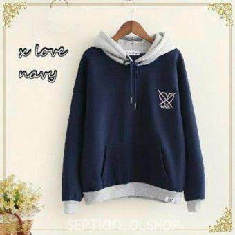 Premierfashionstore Sweater Love Yourself Navy Cari Harga Terbaru Source SR Cloth Jaket Sweater .