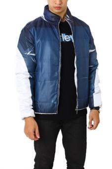 harga Edberth Shop Jacket Pria - Biru Lazada.co.id