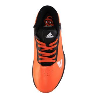 2Beat Warriors Sepatu Basketball - Black Orange