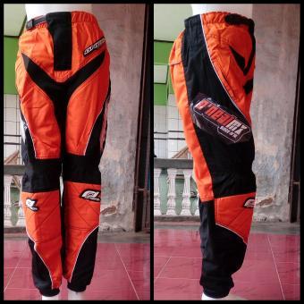 harga Celana Trail Cross Adventure Downhill Motocross Panjang Onealmx (Orange) Lazada.co.id