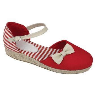 Harga Terbaru Catenzo Junior Sepatu Flat Anak Lynette CAH 232 - Merah