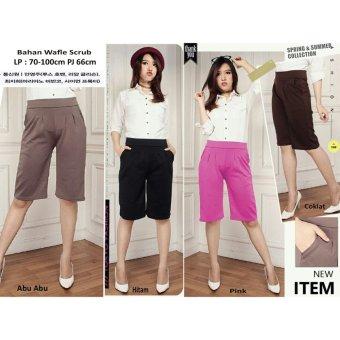 SB Collection Celana Kulot Pendek Rani Short Pant-pink