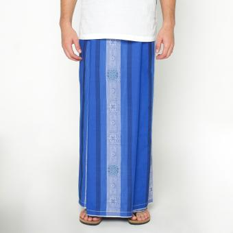 harga Sarung Gajah Duduk Exclusive - Blue Lazada.co.id