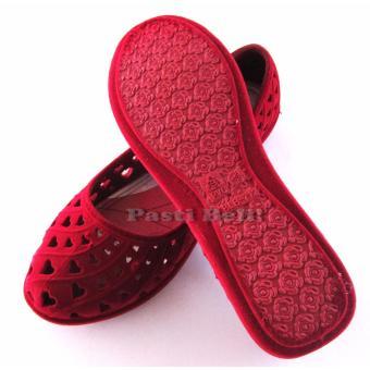 Bata Sepatu Wanita Cantik 552-5089 Merah