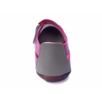 Yutaka sepatu flat - Pink