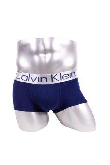 harga Calvin Klein Steel Microfiber Low Rise Trunks - Celana dalam Pria model Trunks/Boxer - Navy Lazada.co.id