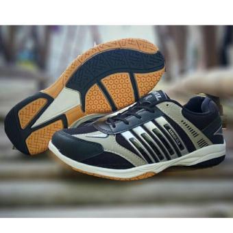 harga Sepatu Sport Running Badminton Airquila Black Lazada.co.id