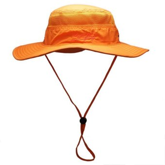Bucket Hats Wide Brim For Men Women Fishing Camping Hunting Camouflage Hats Cap Outdoor Sun Hat Cap - intl