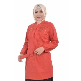 inara house - Blous Manet MB 020 - orange - XL