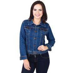 Inficlo Jaket Wanita Bahan Jeans Stretch - SIP 862