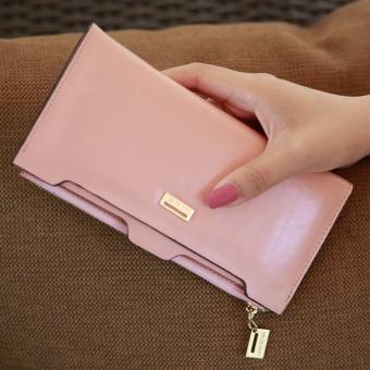 Irak babe Korea Fashion Style baru Dompet (Merah muda)