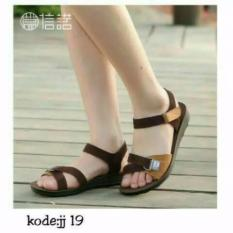 IRNISHOP Sandal Wanita Mu-09 Tan
