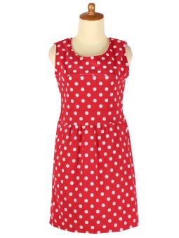 Iyesh IYBF0005 - 0005 Dress Polka - Merah
