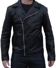 J-Brille Men Semi Leather Jacket - Changcuter - Hitam