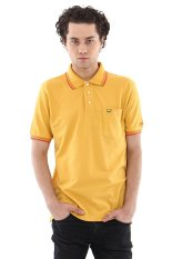 Jack Nicklaus Universal-2 Kaus Polo Pria - Golden G Yellow