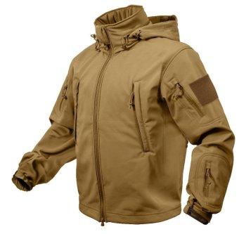 Jakaet TAD Import - Jaket Safety Outdoor Pria - Inner Polar Safety - Coklat