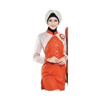 Java Seven Busana Muslim Wanita Lashira ALY 327 - Orange