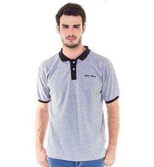 Java Seven DED 621 Polo Shirt Pria Combad Bagus (Putih)