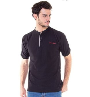 Java Seven DED 622 Polo Shirt Pria Lacoste Menarik (Coklat)