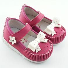 Javana Sepatu Anak Bayi Perempuan Pita Cantik JVNPITA - Fuchsia