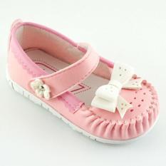 Javana Sepatu Anak Bayi Perempuan Pita Cantik JVNPITA - Pink