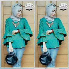 JC - Baju Atasan Wanita Tromphy Top / Baju Muslim Wanita Tosca