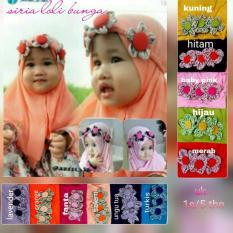 Jilbab Anak Loli Bunga