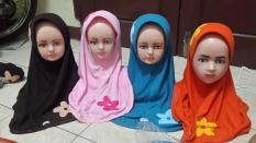 Jilbab Anak Merk Vania Simple Dan Kualitas Ok Size Anak Sd