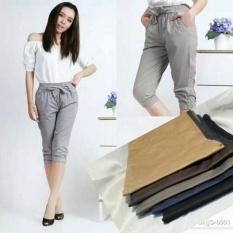 JOGGER SHORT PANTS FOR LADIES (celana jogger pendek)
