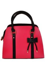 JOIN NEW PU Leather Top-handle Bag Red