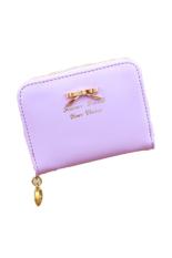 JOR Hot Sale Fashion Lady Women Pu Leather Wallet Zip Around Wallet Card Holder Handbag (Purple) - intl