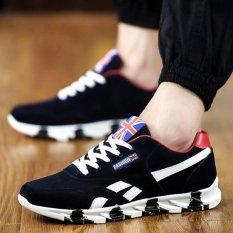 JOY Breathable Men Casual Sneakers (Black)