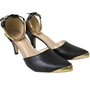 Kaluna Sepatu Wanita High Heels TB34 Black