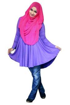 Kampung Souvenir - Atasan Basic Benazir - Purple
