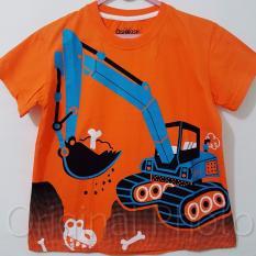 Kaos Anak Karakter - Tractor Orange