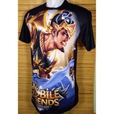 Kaos Oblong T-shirt O-Neck Distro gambar Mobile Legend pria