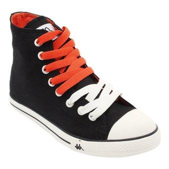 Kappa K11BFC917 Simple Hi Sneakers - Black-Off White-Orange