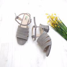 KelinciMadu-Brenna Heels-Grey