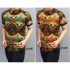 Kemeja Batik Slimfit Pria H918b Kombinasi Muslim Koko Jeans Cek Source Harga Kemeja .
