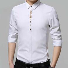SWEETENYOU KEMEJA PRIA CODY ABU. Laki Korea Jepang Lengan Panjang Distro Slimfit Stretch Trendy Keren Cotton Katun Hitam .