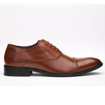 Kings Collection Lenox Oxford Shoes (Brown) - Intl