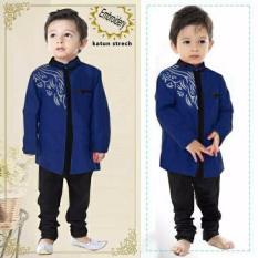 Koko Pasha Kid Navy - Baju Anak Muslim