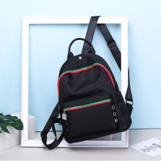 Korea Fashion Style baru tas sekolah tas ransel (Warna Hitam)
