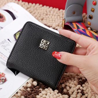 ... Nol Dompet Dompet Kecil Rumput Hijau Untuk Mengirim Gantungan Kunci. Korea Fashion Style siswa perempuan Mini dompet kecil wallet Hitam